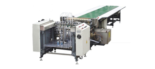 RS-650AB FRONT SUCTION FEEDING AUTOMATIC GLUING MACHINE